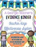 Teacher Keys Effectiveness System (TKES) TAPS Teacher Evid