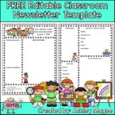 Free Editable Teacher Newsletter Template
