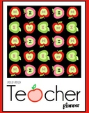 Teacher Planner - Apple Theme