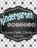 Moore Schools Monthly Teacher Calendar