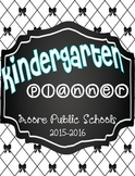 Teacher Planner Calendar Cover Pages {Moore Schools Exclusive!}
