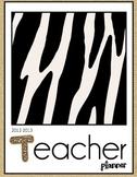 Teacher Planner - Jungle Theme