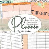 Teacher Planner for the Secondary Teacher with Multiple Pr