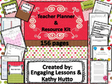 Teacher Planner/Binder and Resource Kit - EDITABLE