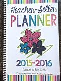 Teacher-Seller Planner HARD GOOD from session From Teacher