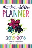 Teacher-Seller Planner from Vegas 2015 session: From Teach