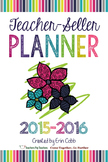 Teacher-Seller Planner from Vegas 2015 session: From Teach