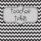 Teacher Tidbits Notebook Dividers