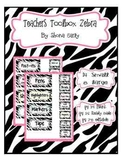 Teacher Toolbox Zebra