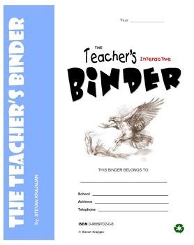 Teacher's Binder - printable classroom forms, worksheets,