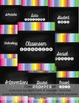 Organize and Go! Classroom Organizer {Rainbow Chalkboard}