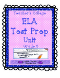 Teacher's College ELA Test Prep Unit for 3rd Grade