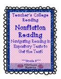 Teachers College Nonfiction Reading Unit for 3rd Grade