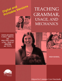 Teaching Grammar and Mechanics