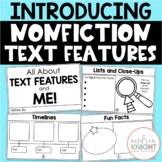 Teaching Nonfiction Text Features {K-2 Student Book}