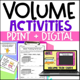 Teaching Volume Unit: Common Core Aligned 5th Grade