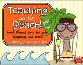Teaching on the Beach {Beach Theme Classroom Part Two}