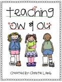 Teaching ow & ou