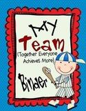 Team Organizational Binder Set