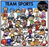 Team Sports Clip Art Bundle