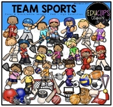 Team Sports Clip Art Bundle