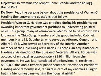 Teapot Dome Scandal PowerPoint Presentation