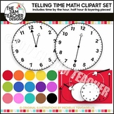 Telling Time Graphics Collection!! Over 160 Graphics