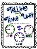 Telling Time (Two) Math Unit