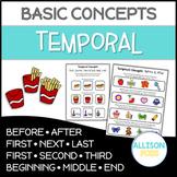 Temporal Concepts