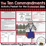 Ten Commandments Activity Packet