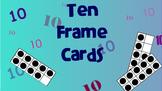 Ten Frame Cards 0-10 on a SMART Board  Slide