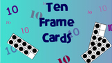 Ten Frame Cards 0-10 on a SMART Board  Slide