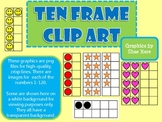 Ten Frame Clip Art 0-20 - Common Core Math Aid