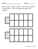 Ten Frame Dice Activity