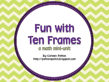 Ten Frame Mini-Unit