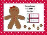 Ten Frames Center: Gingerbread Kids