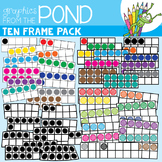 Ten Frames Clipart - Graphics for Teaching & Learning