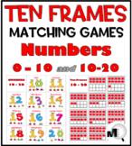 Ten Frames Matching Games