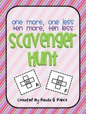 Ten More, Ten Less, One More, One Less Scavenger Hunt