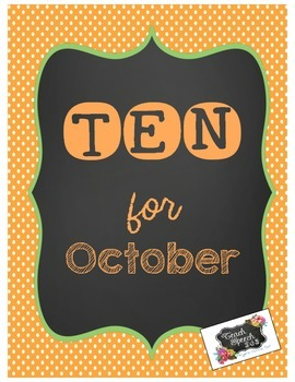 Ten for October [FREE}