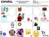 Spanish Tener Expressions Creative Writing Speech Bubble W