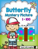 Tens and Ones Place Value Mystery Picture (Butterfly)