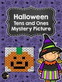 Tens and Ones Place Value Mystery Picture (Halloween)