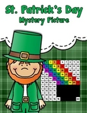 Tens and Ones Place Value Mystery Picture (St. Patrick's Day)