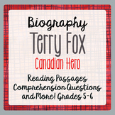 Terry Fox - A Canadian Hero  2 Reading Passages, 9 activit