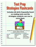 Test Prep- 20 Test Taking Skills with Strategies Flashcards