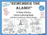 "Texas History: ""Remember the Alamo!"" Texas History Comic C"