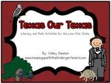Texas Our Texas (A Literacy and Math Mini-Unit for the Lon