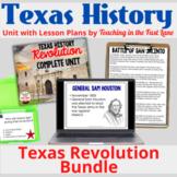 Texas Revolution Complete Unit