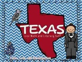 Texas Size Math and Literacy Center Fun